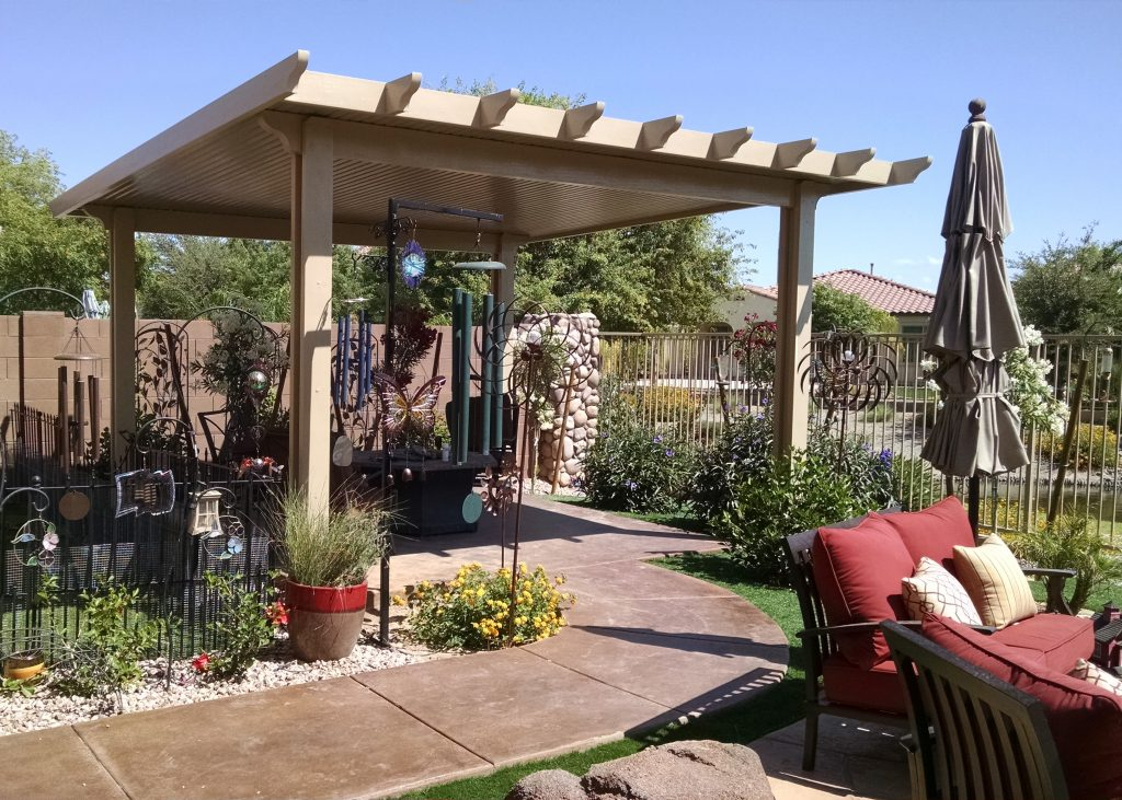 Solid Pan Patio Covers