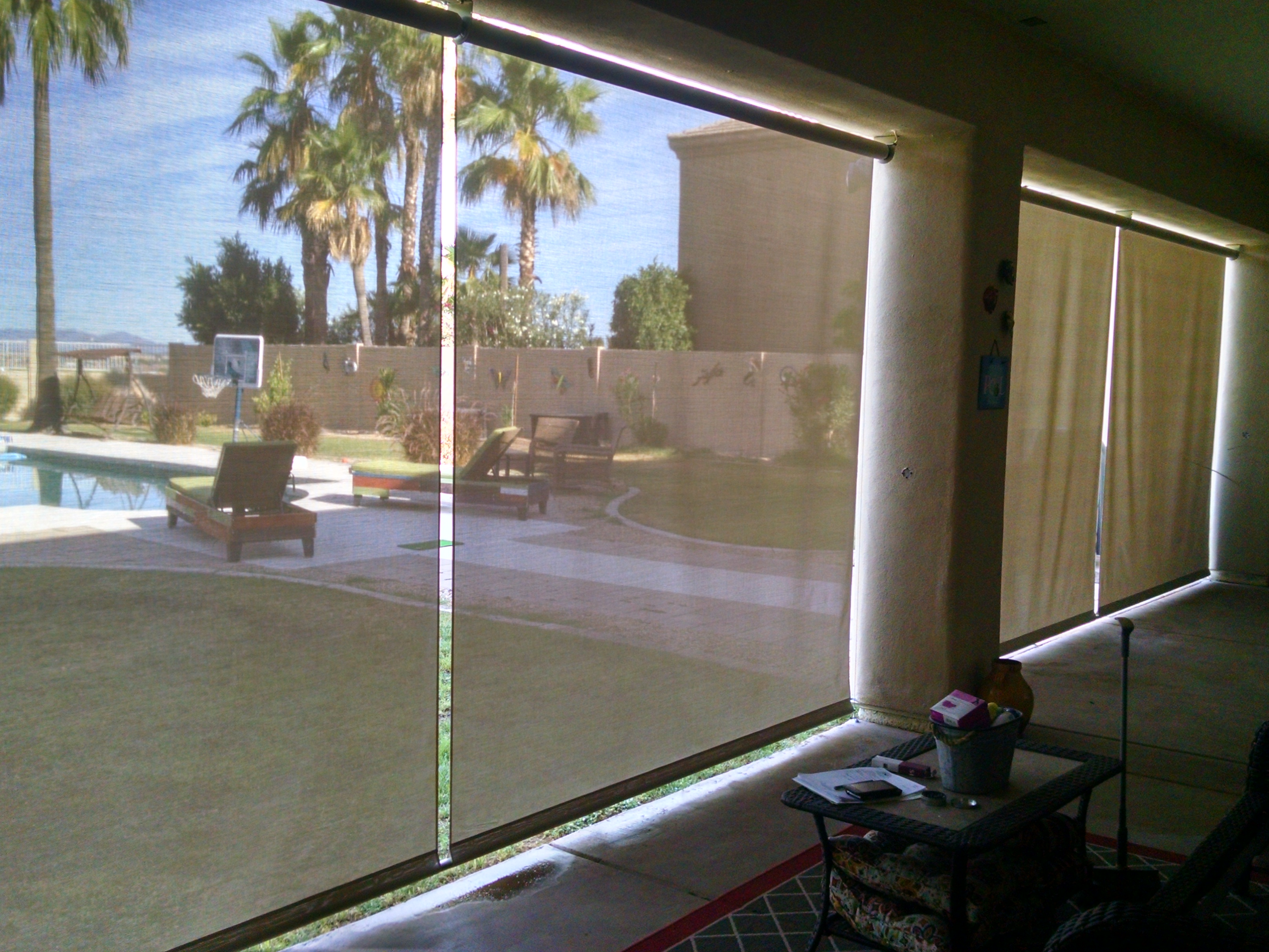 Shade Screen For Patio Home Design Ideas And Pictures