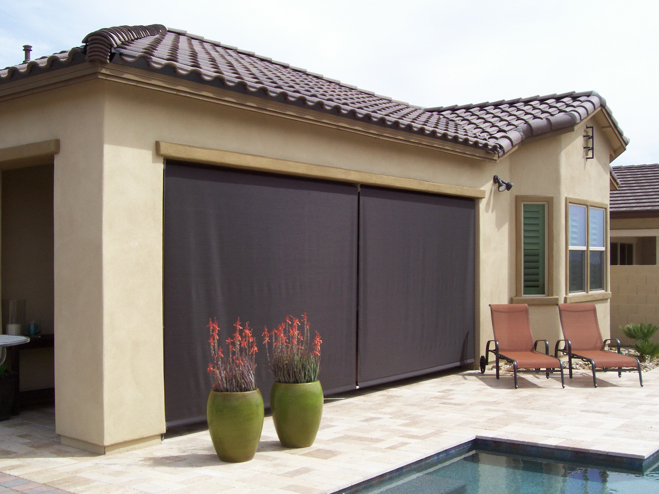 Sun Blocking Screens For Patios Outswing Patio Doors With