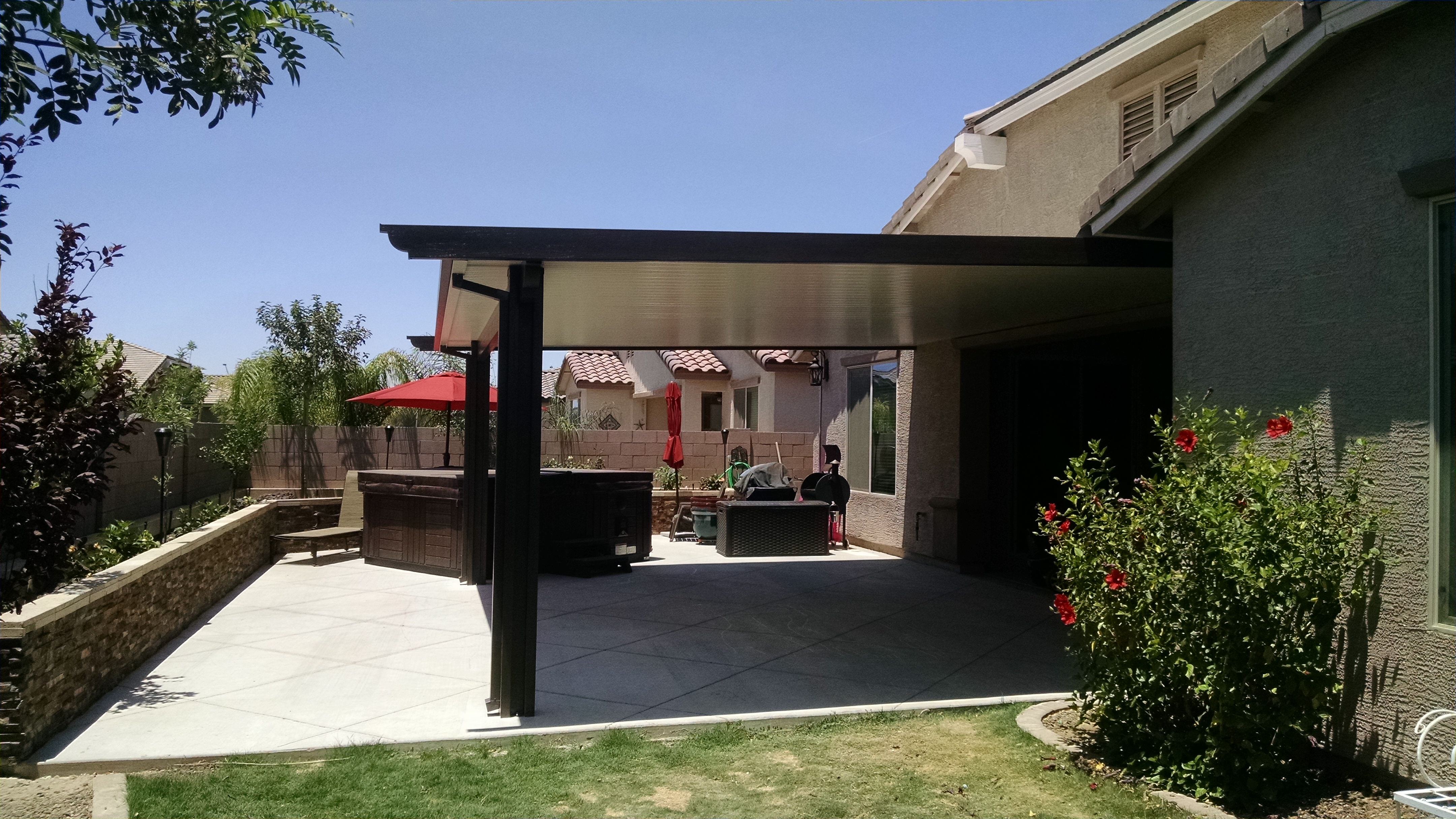 A formidable defense from the sun liberty home products for Patio products