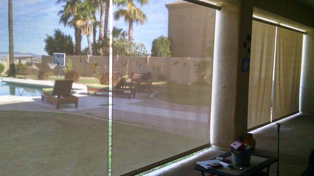 Glass Patio Wind Screens