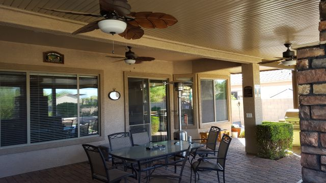 Solid Pan Patio Cover