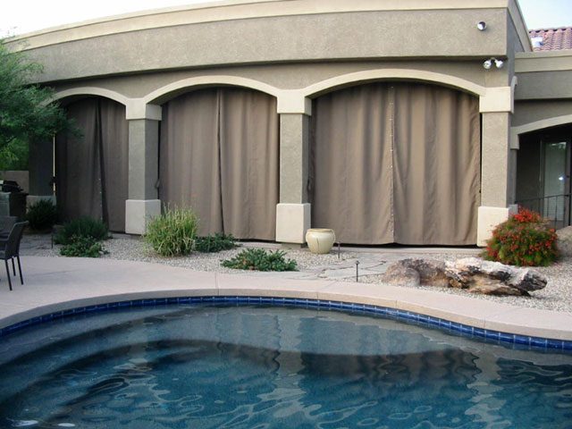 Ideas for Patio Curtains | Liberty Home Products