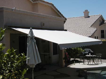 Affordable Retractable Awnings Sunbrella Fabric Phoenix