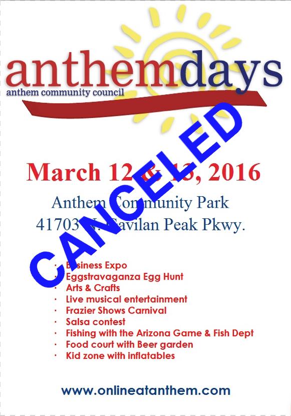 Anthem Days