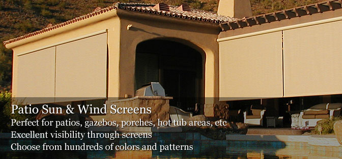 Liberty Home Products Window Awnings Phoenix Patio Shades